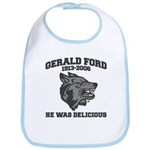 gerald ford eaten by wolves Bib