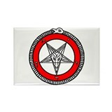 Baphomet Rectangle Magnet