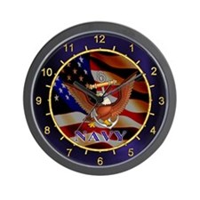 U.S. NAVY Wall Clock
