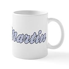 St Martin (blue) Mug