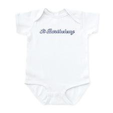 St Barthelemy (blue) Infant Bodysuit