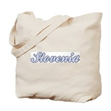 Slovenia (blue) Tote Bag