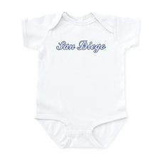 San Diego (blue) Infant Bodysuit