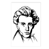 Kierkegaard philosophy Postcards (Package of 8)