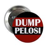 Dump Pelosi Political Button