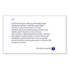 EMTs Wife Prayer (Rectangle)