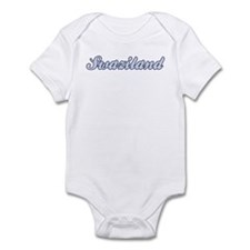 Swaziland (blue) Infant Bodysuit
