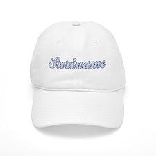 Suriname (blue) Baseball Cap