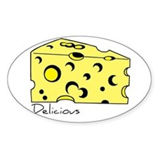 Swiss Cheese Oval Decal
