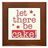 Let There Be Cake! Framed Tile