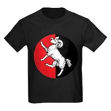 Gleann Abhann Populace Kids Dark T-Shirt