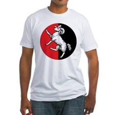Gleann Abhann Populace Fitted T-Shirt
