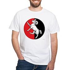 Gleann Abhann Populace White T-Shirt
