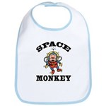 Space Monkey Bib