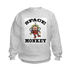 Space Monkey Kids Sweatshirt
