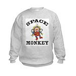 Space Monkey Kids Sweatshirt