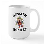 Space Monkey Large Mug