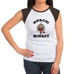 Space Monkey Women's Cap Sleeve T-Shirt
