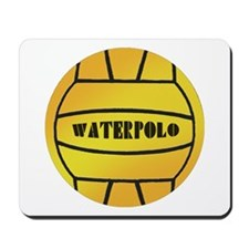 Water Polo Ball Mousepad