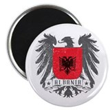 "Albania Shield 2.25"" Magnet (100 pack)"