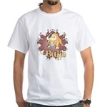 Bulls! Mascot White T-Shirt