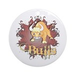 Bulls! Mascot Ornament (Round)