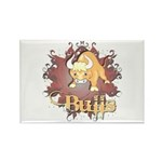 Bulls! Mascot Rectangle Magnet (100 pack)