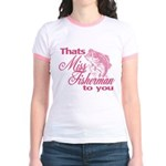 Miss Fisherman Jr. Ringer T-Shirt