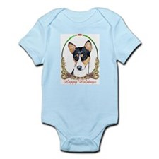 Basenji Holiday Infant Creeper