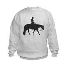 Male Pixel Pleasure Horse Sweatshirt