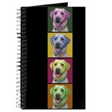 Grace the Yellow Labrador Blank Book