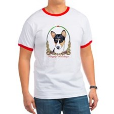 Basenji Holiday T