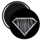 "SuperWoman(metal) 2.25"" Magnet (10 pack)"