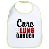Cure Lung Cancer Bib