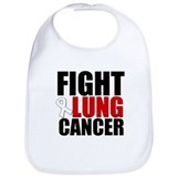 Fight Lung Cancer Bib