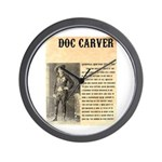 Doc Carver Wall Clock