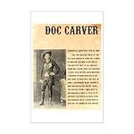 Doc Carver Mini Poster Print