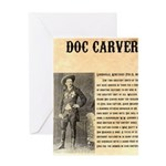 Doc Carver Greeting Card