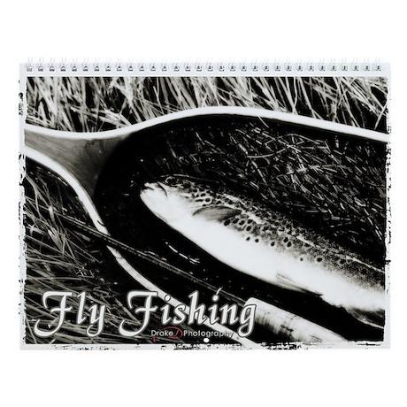 Fly Fishing Fine Art Wall Calendar