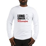 Lung Cancer Warrior Long Sleeve T-Shirt