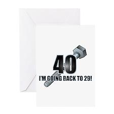 Screw 40! Greeting Card