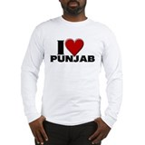 I Love Punjab Long Sleeve T-Shirt