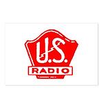 U.S. Radio Postcards (Package of 8)