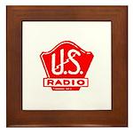 U.S. Radio Framed Tile