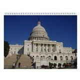 Unique Capitol building Wall Calendar