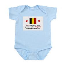 Love Belgians Infant Bodysuit