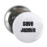 "Save Jazmin 2.25"" Button (10 pack)"