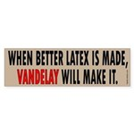 Vandelay Industries Slogan Bumper Sticker