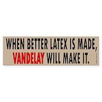 Vandelay Industries Slogan Bumper Sticker