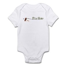 Fly Fishing Guy Infant Bodysuit